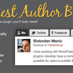 Top 10 Free And Premium Author Box Plugins for WordPress