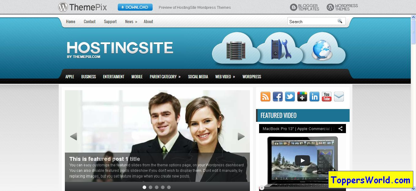 Free-Wordpress-Themes-ThemePix-themepix_com_wordpress-themes hostingsite preview
