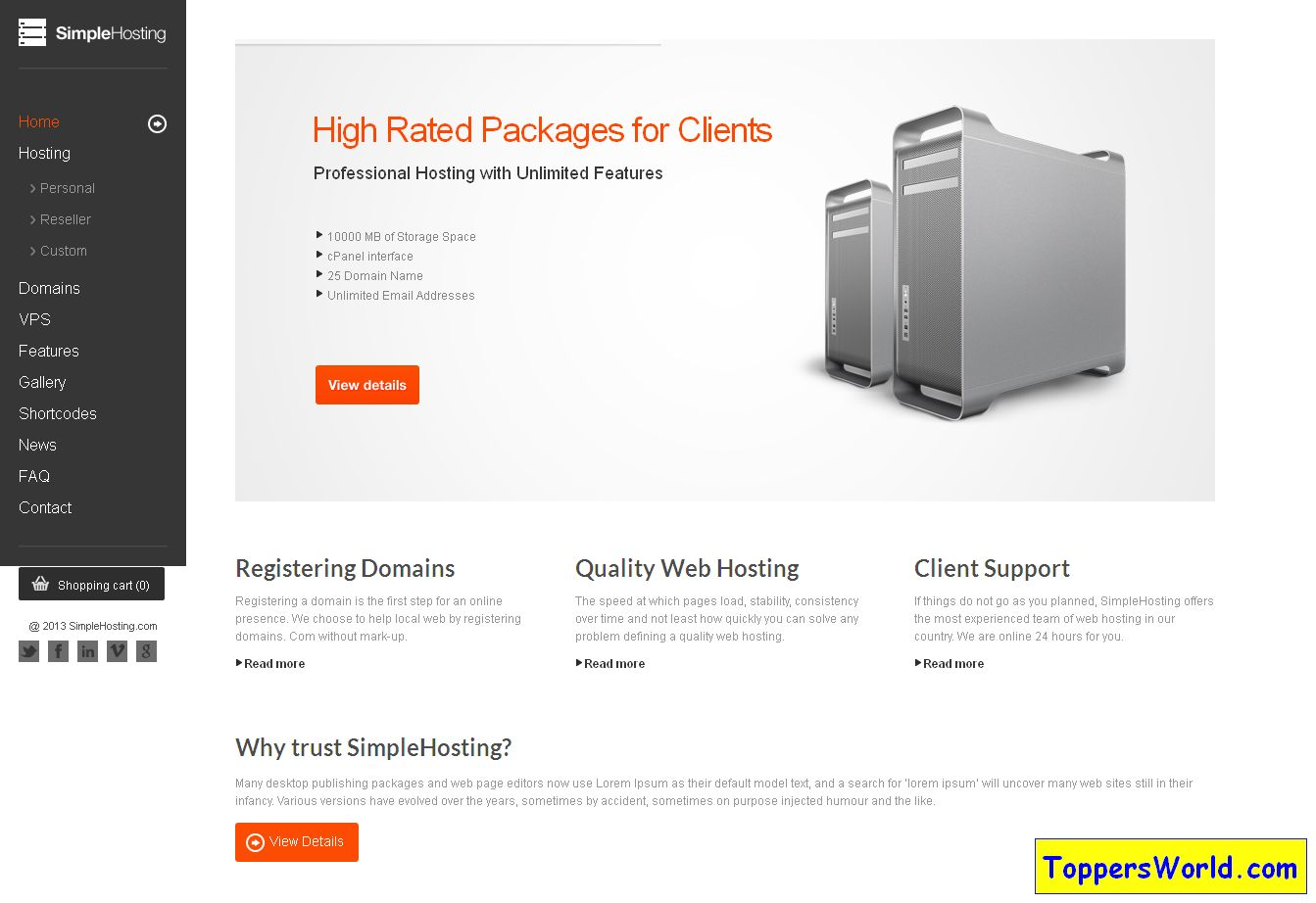 Home Page' - clapat_ro_themes_simplehosting