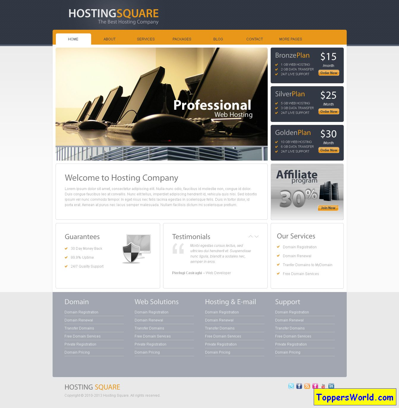 Hosting Square r TemplateSquareWordPress Hosting