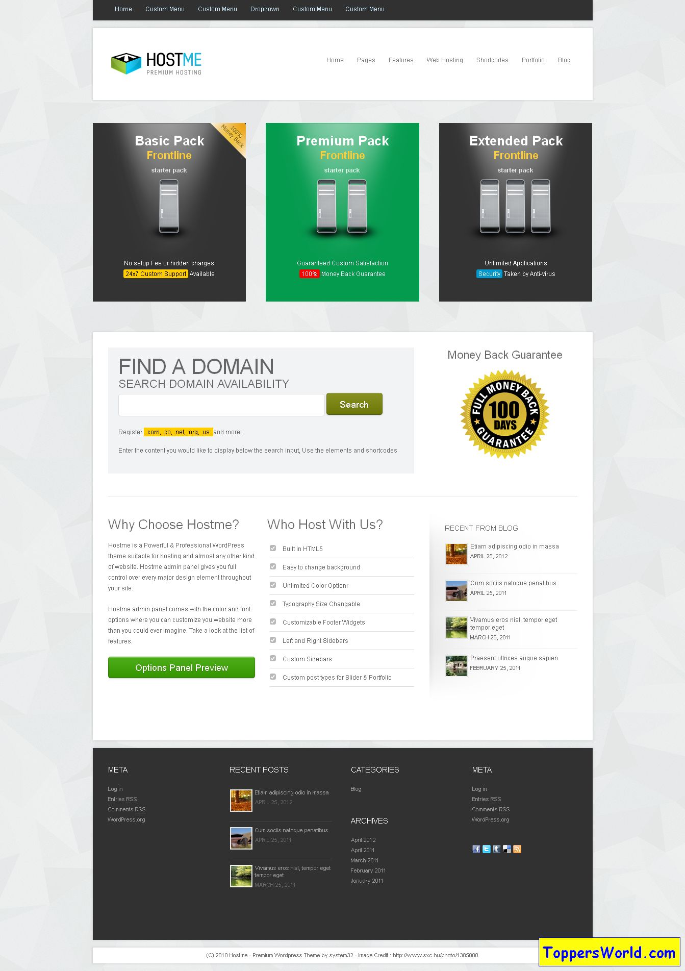 Hostme' - www_aivahthemes_com_hostme