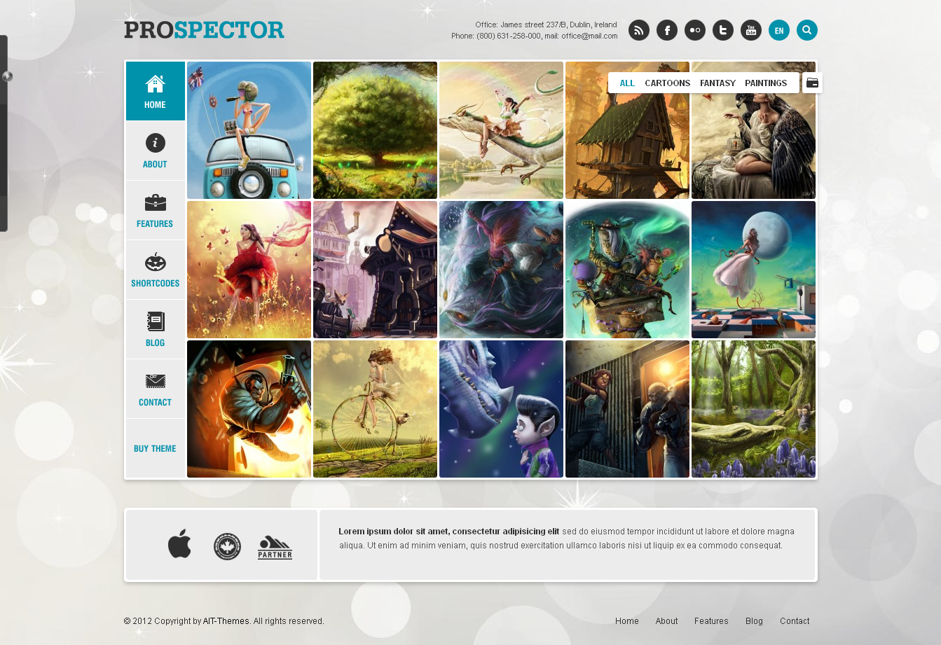 Prospector WordPress Theme