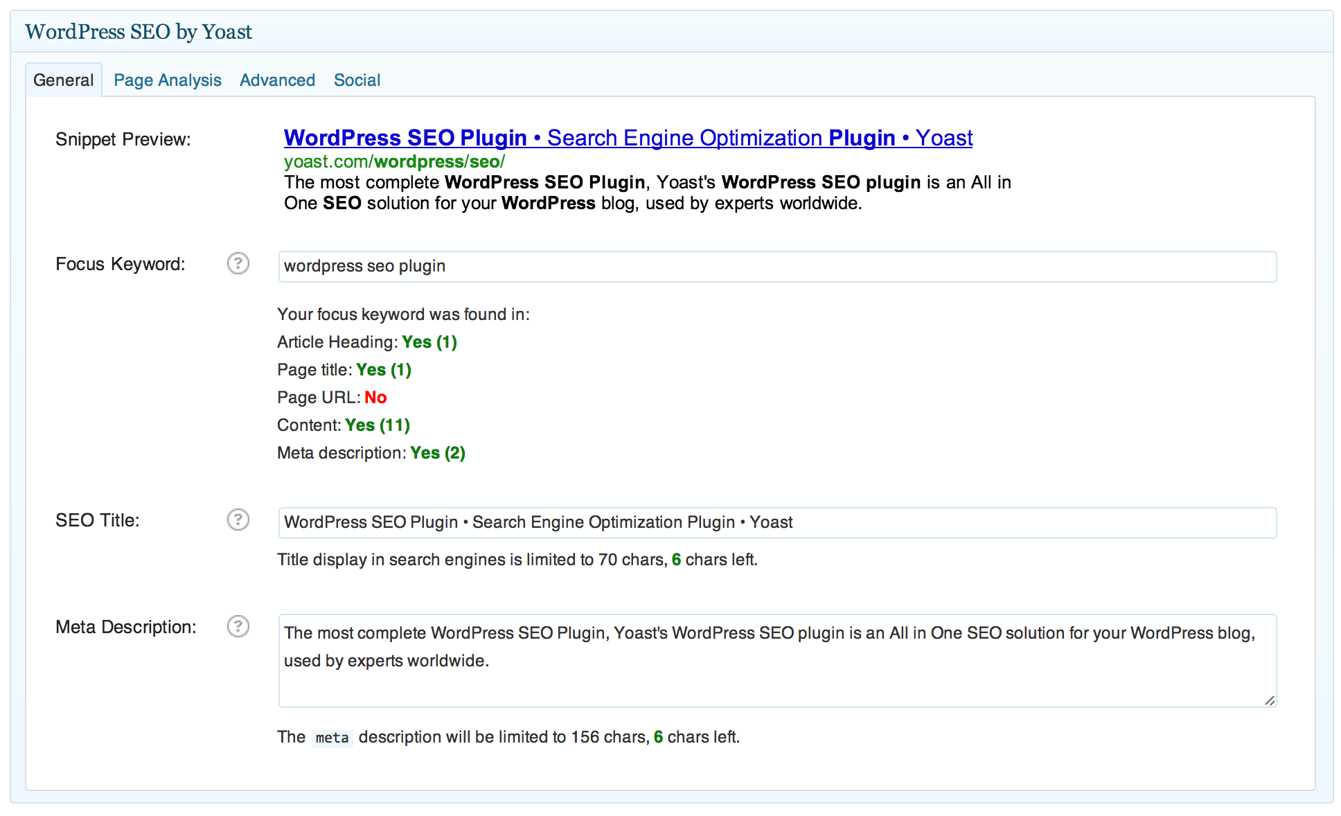 wordpress-seo yoast Plugin