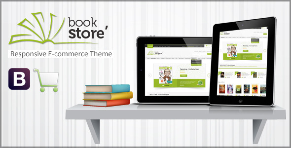 Book Store – Responsive eCommerce Theme