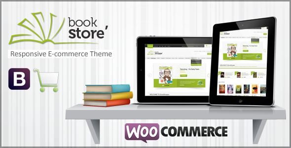 BookStore Responsive WooCommerce Theme