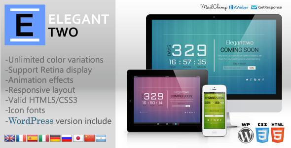 Eleganttwo Animation Responsive Template
