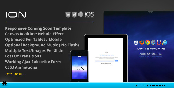 ION Theatrical Coming Soon Template