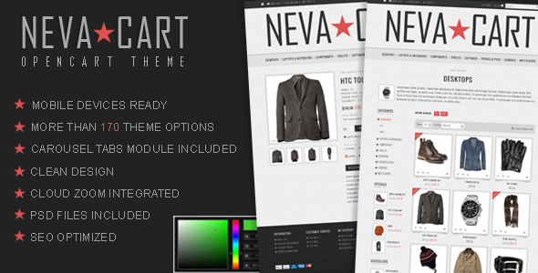 NevaCart OpenCart Theme