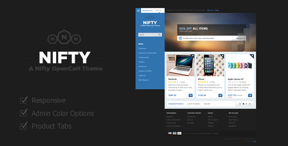 Nifty OpenCart eCommerce Theme