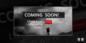 50+ Creative HTML/CSS Coming Soon/Under Construction Templates