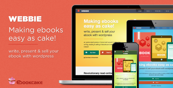 Webbie WordPress Theme For eBook Authors
