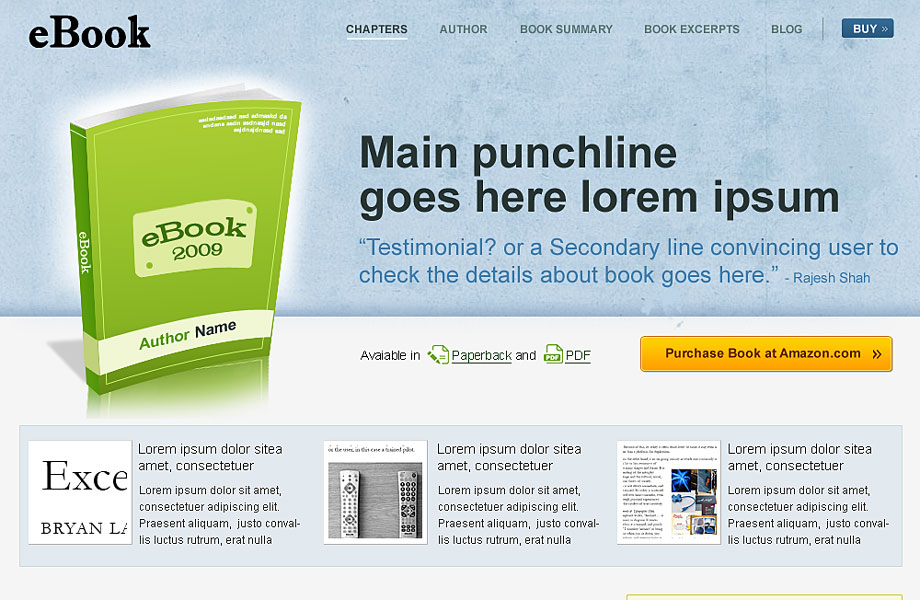 eBook WordPress Premium Theme