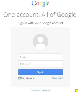 Google Accounts Analytics Login