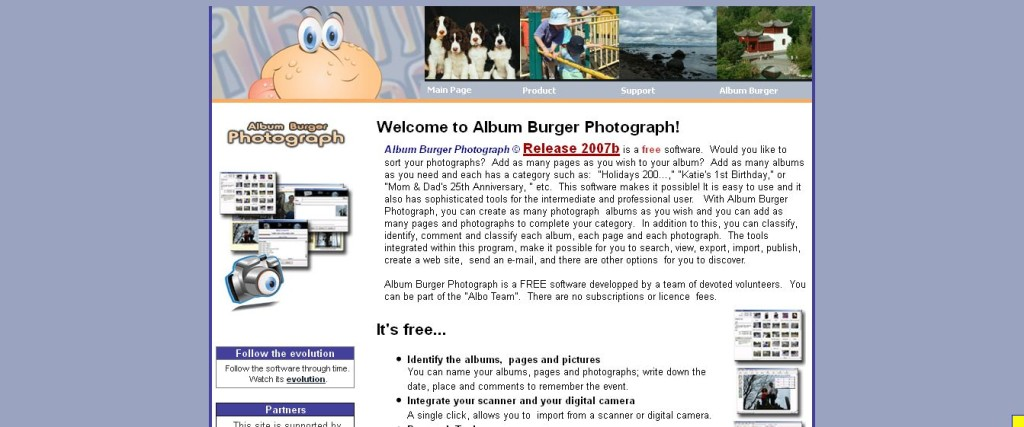 Album Burger Photograph Your Digital Photo Software