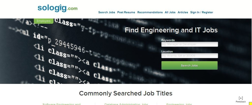 IT and Engineering Jobs I Sologig_com