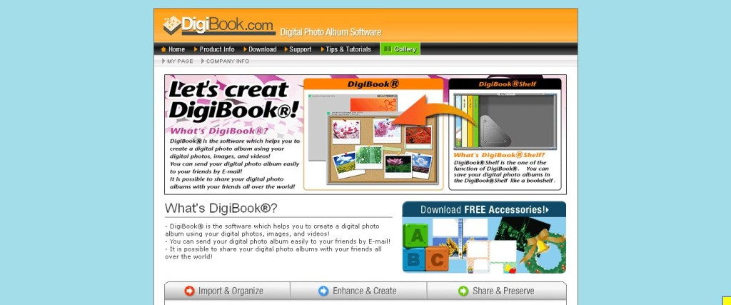 Photo Album Software DigiBook