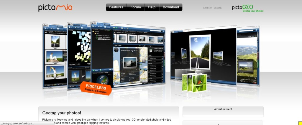 Pictomio free photo software
