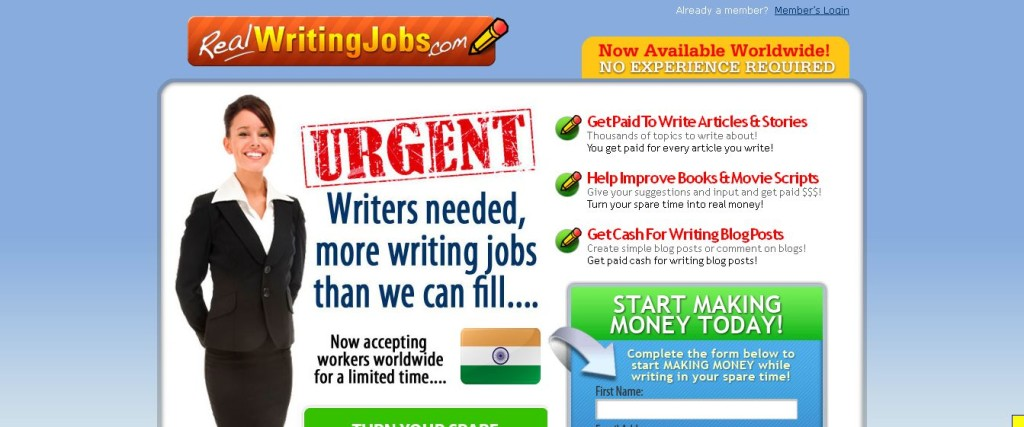 Real Writing Jobs - Earn Extra Money Writing