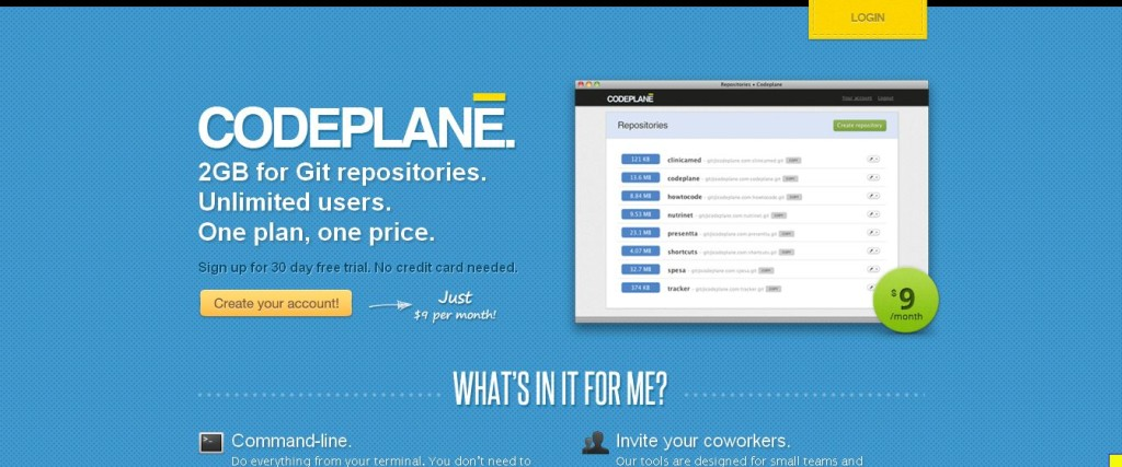 Unlimited private Git hosting Codeplane