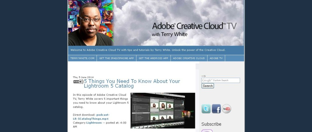 Adobe Creative Suite Video Podcast