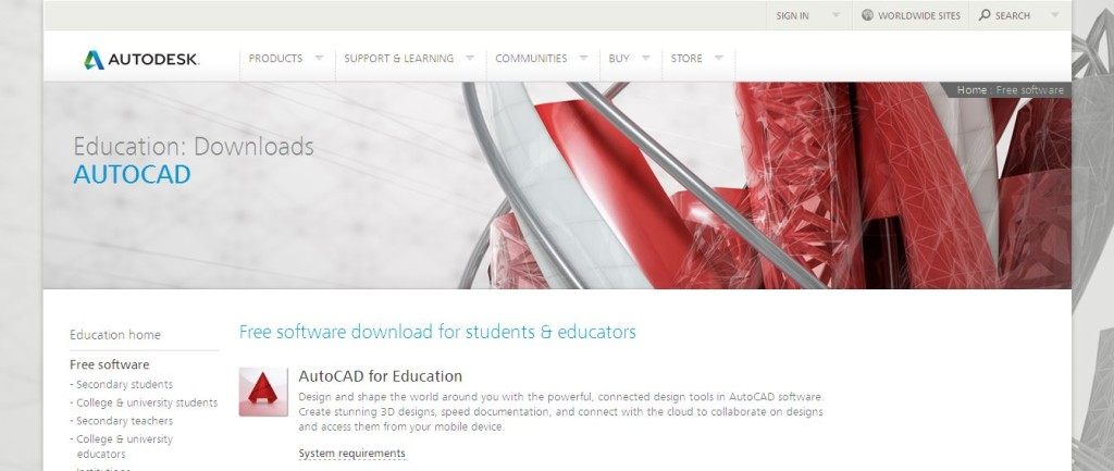AutoCAD Free Download I Free Student Version for Academics