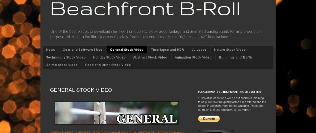 Beachfront B Roll General Stock Video