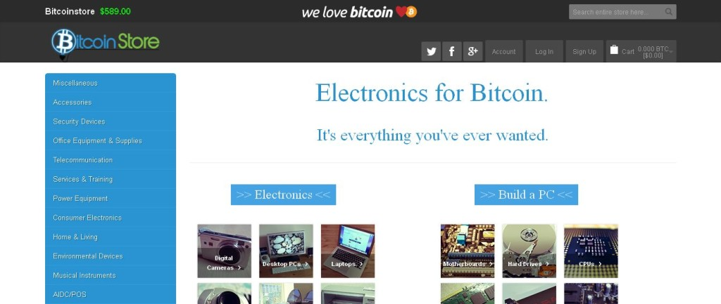 Buy Electronics Online With Bitcoins - BitcoinStore_com