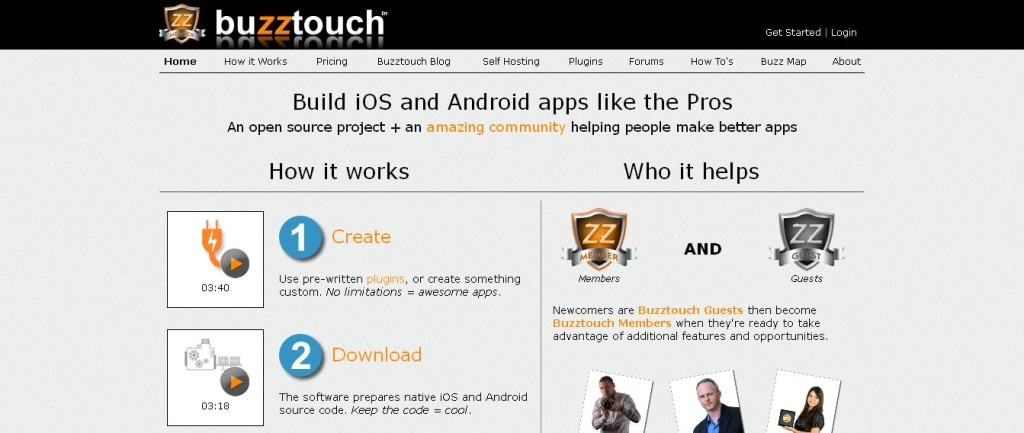 Buzztouch I FREE iOS and Android App Maker