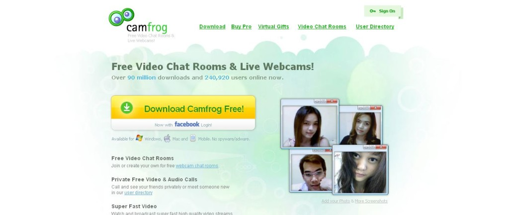 Camfrog Video Chat Rooms Live Webcams