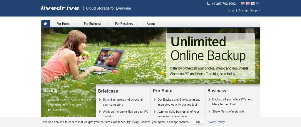 Cloud Storage & Unlimited Online Backup I Livedrive