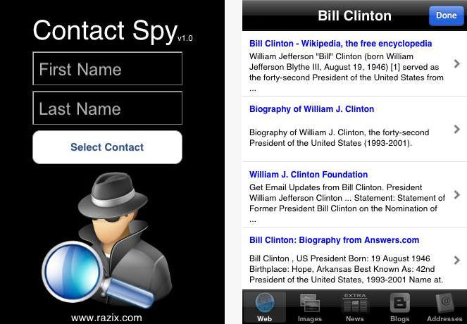 Contact Spy on the App Store on iTunes
