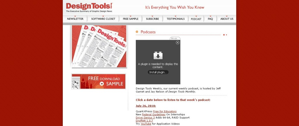 CreativePro_com Design Tools Podcasts