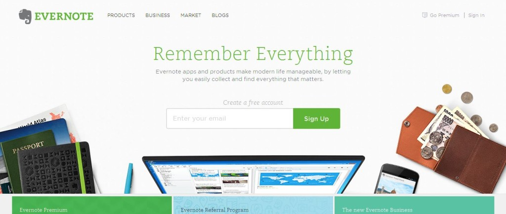 Evernote Remember everything with Evernote great apps