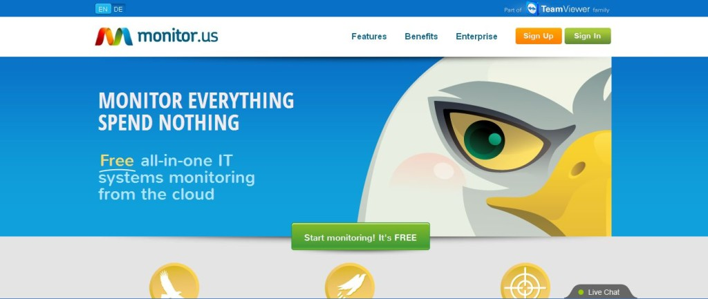 FREE Website Monitoring & Monitoring Software from Monitor_Us