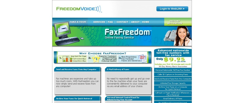 Fax Freedom Faxing Service