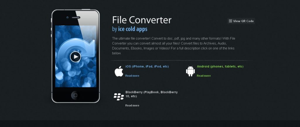 File Converter, for your mobile! Videos, Document