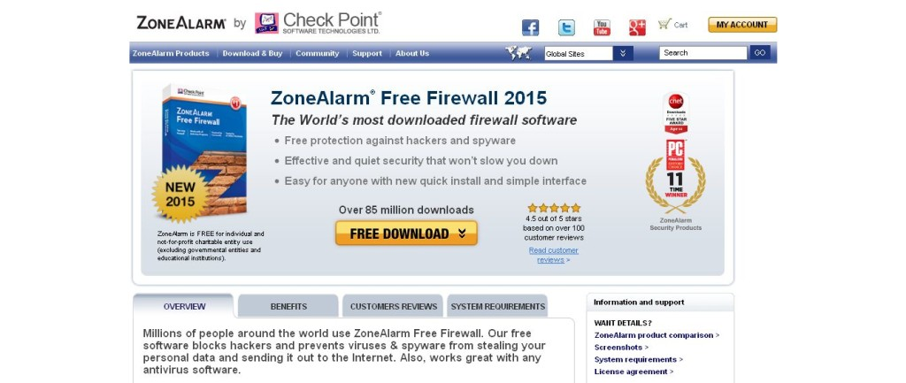 Free Firewall Software_ Personal Firewall by ZoneAlarm