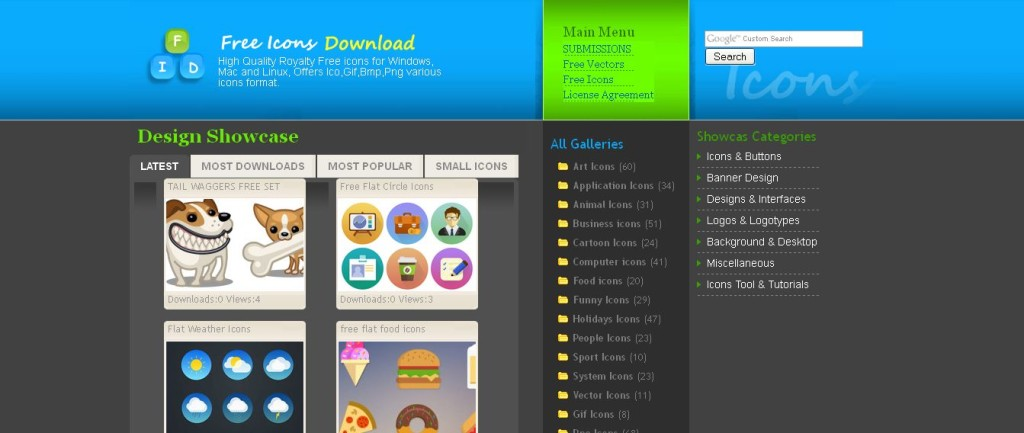 Free Icons Download - 800+ Free Icon Sets for download