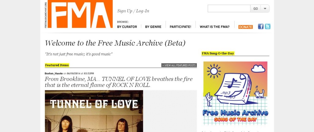Free Music Archive Online Music Free