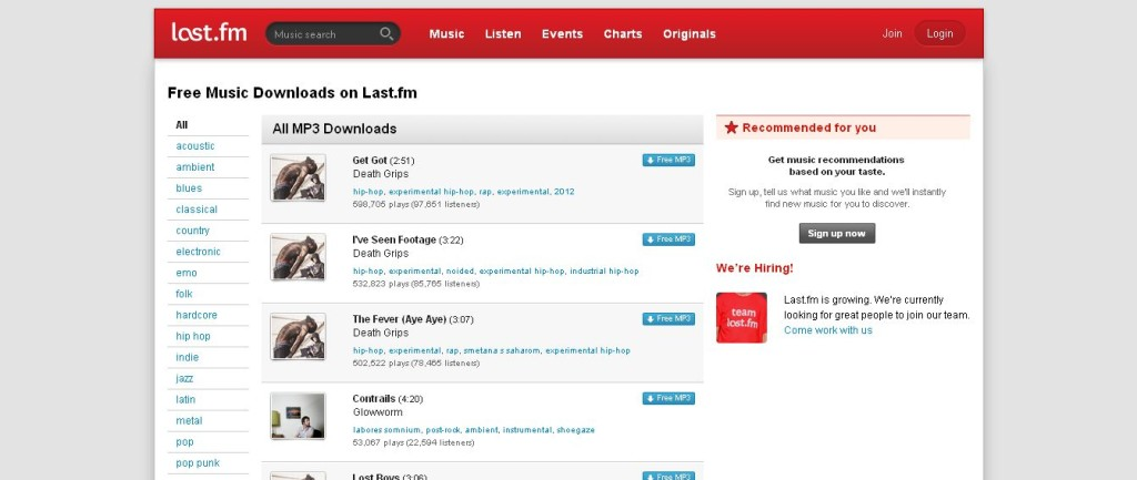 Free Music Downloads – Last_fm