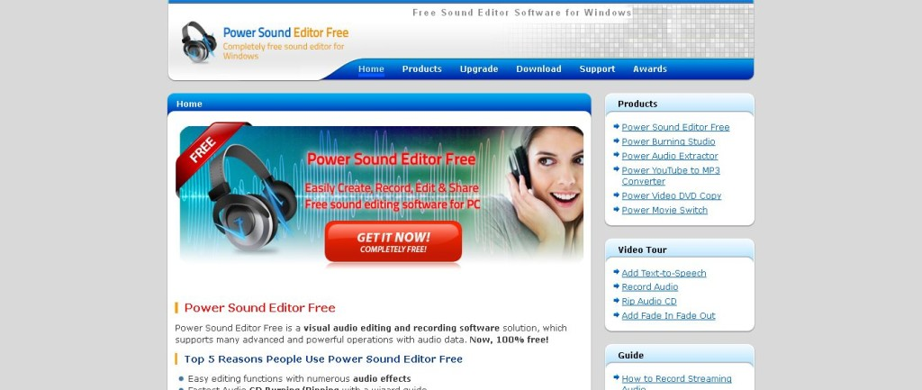 Free Sound Editor Software for Windows