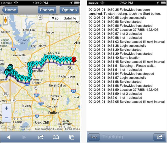 GPS Location Tracker for iPhone and iPad - Standard Edition