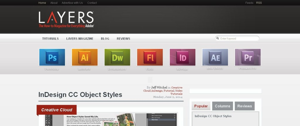 Layers Magazine The How-to Magazine for Everything Adobe