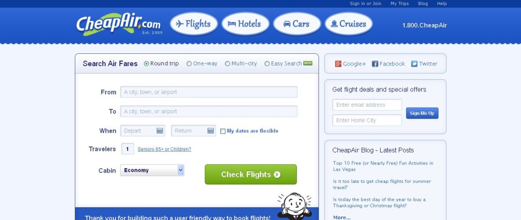 Low Cost Air Fares Tickets CheapAir