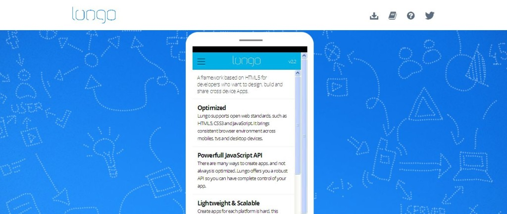 Lungo - HTML5 Cross-Device Framework