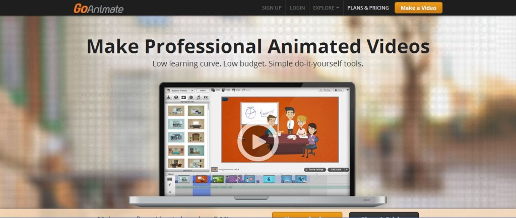Make Business Video Animated Video Production GoAnimate