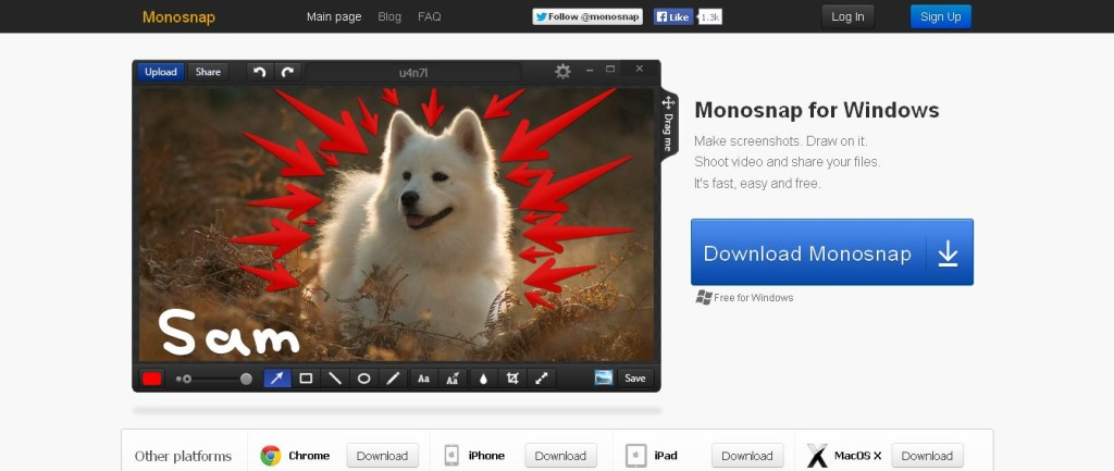 Monosnap - powerful screenshot tool