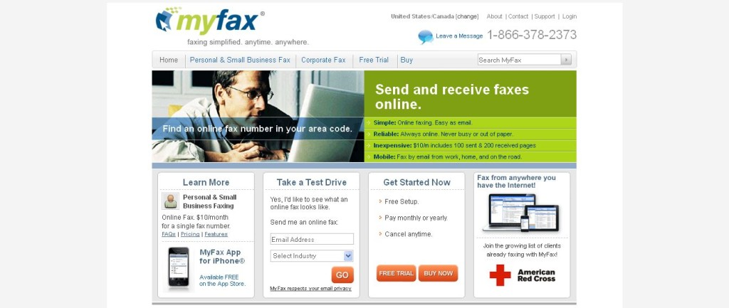 MyFax I Send & Receive Faxes Online I Internet Fax Service