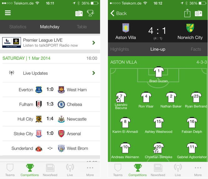 Onefootball formerly THE Football App