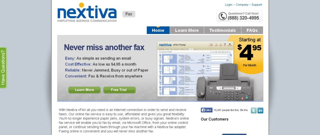 Online Fax Service Internet Fax to Email I vFAX Provider